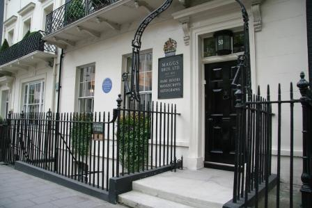 50 Berkeley Square. Most haunted house in London.