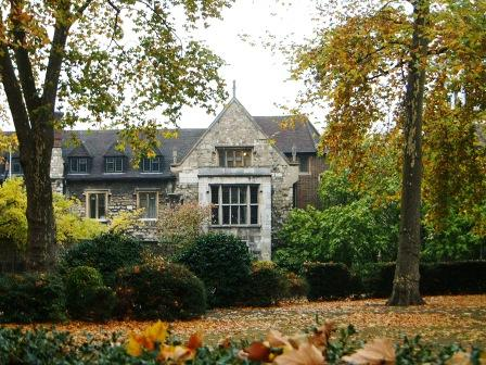The Charterhouse in London.