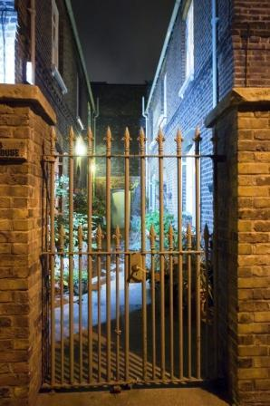 A haunted alley in London